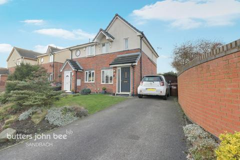 2 bedroom semi-detached house for sale - Ashby Drive, Sandbach
