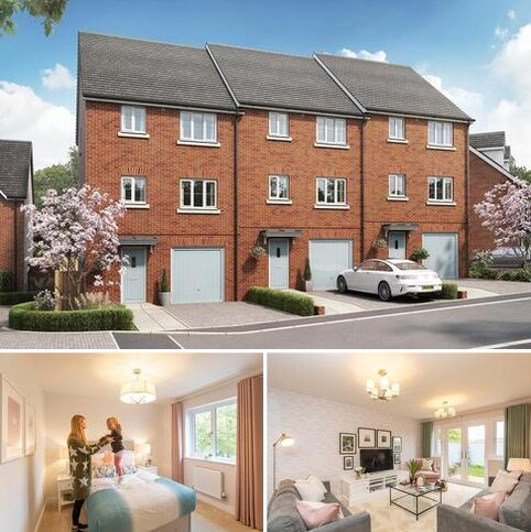 4 bedroom end of terrace house for sale - Plot 173, The Foulston at Tithe Barn, Tithebarn Link Road, Exeter, Devon EX1