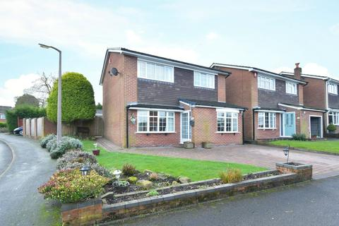 3 bedroom detached house for sale - Kingfisher Crescent, Fulford, ST11 9QE