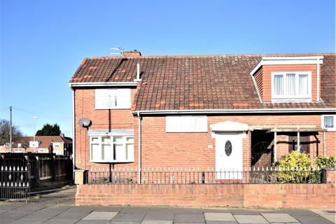 2 bedroom end of terrace house for sale - Wrekenton