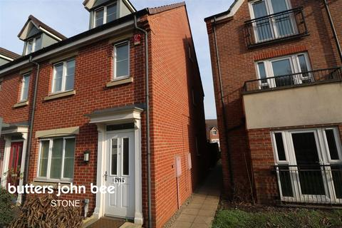 3 bedroom end of terrace house for sale - The Fillybrooks, Stone