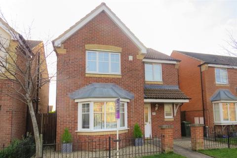 4 bedroom detached house for sale - Rothbury Drive, Portland Park Estate, Ashington
