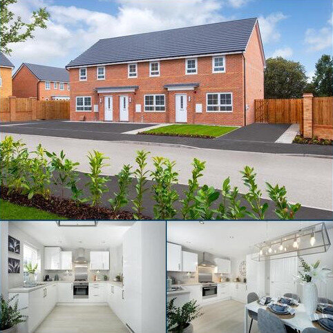 3 bedroom end of terrace house for sale - Plot 3, Maidstone at Berry Edge, Genesis Way, Consett, CONSETT DH8