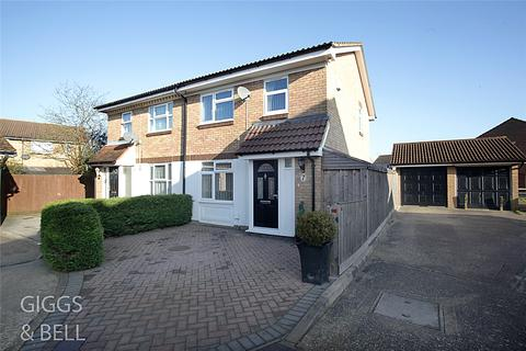 3 bedroom semi-detached house for sale - Berrow Close, Luton, Bedfordshire, LU2
