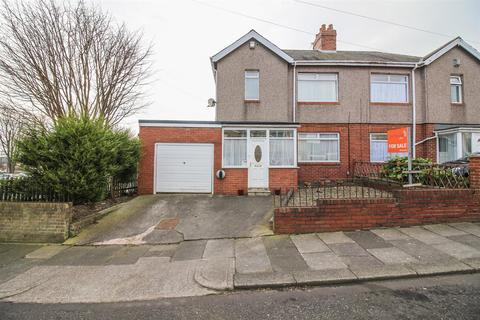 3 bedroom semi-detached house for sale - Bruce Gardens, Newcastle Upon Tyne