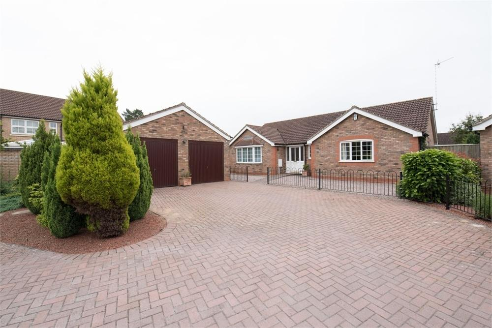 3 Bedrooms Detached Bungalow for sale in Seedlands Close, Boston, Lincolnshire