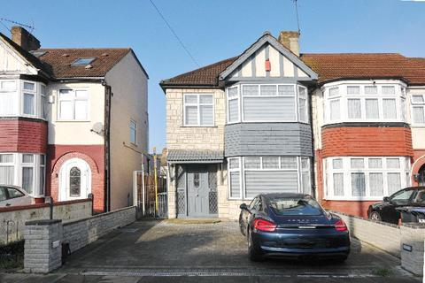 3 bedroom end of terrace house for sale - New Park Avenue, Palmers Green, London N13