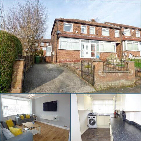 3 bedroom end of terrace house for sale - Wilma Avenue, Blackley, Manchester, M9