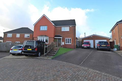 4 bedroom detached house for sale - Meadow Brook, Church Village, Pontypridd, Rhondda, Cynon, Taff. CF38 1DJ