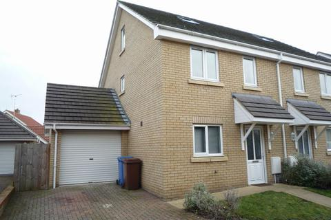 3 bedroom semi-detached house to rent - Saxon Gate, Holywell Row, Mildenhall, Suffolk, IP28