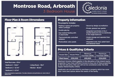3 bedroom house for sale - Montrose Road, Arbroath