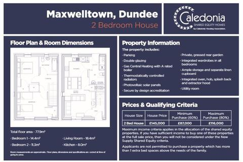 2 bedroom house for sale - Maxwelltown, Dundee