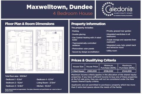 4 bedroom house for sale - Maxwelltown, Dundee