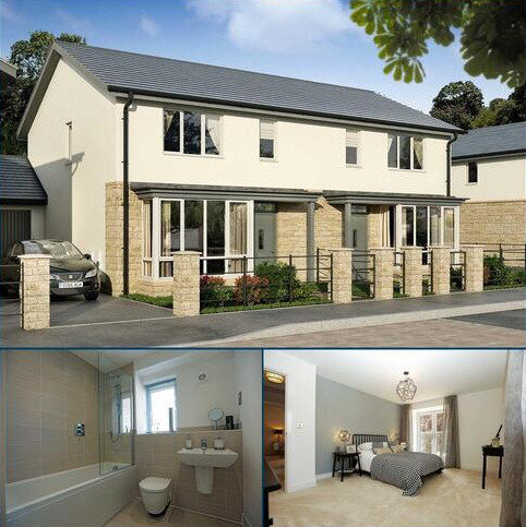 3 bedroom semi-detached house for sale - Plot 135, The Saguso 2 at Ensleigh, Beckford Drive, Lansdown, Bath BA1