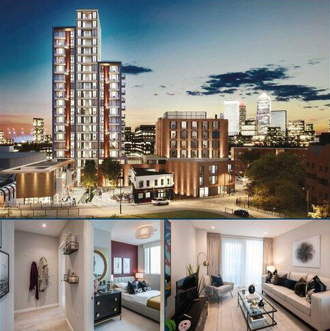 1 bedroom apartment for sale - Plot B20, Lime Quarter Tower Type 8 at Lime Quarter, Devons Road, London E3