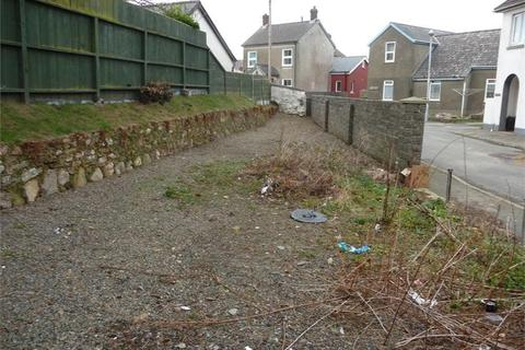 Land for sale - Plot adj to Ashgrove, Smyth Street, Fishguard