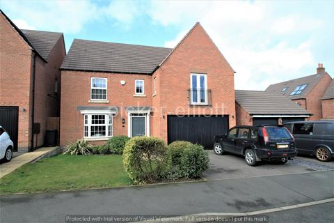 4 bedroom detached house for sale - Paris Close, Hinckley