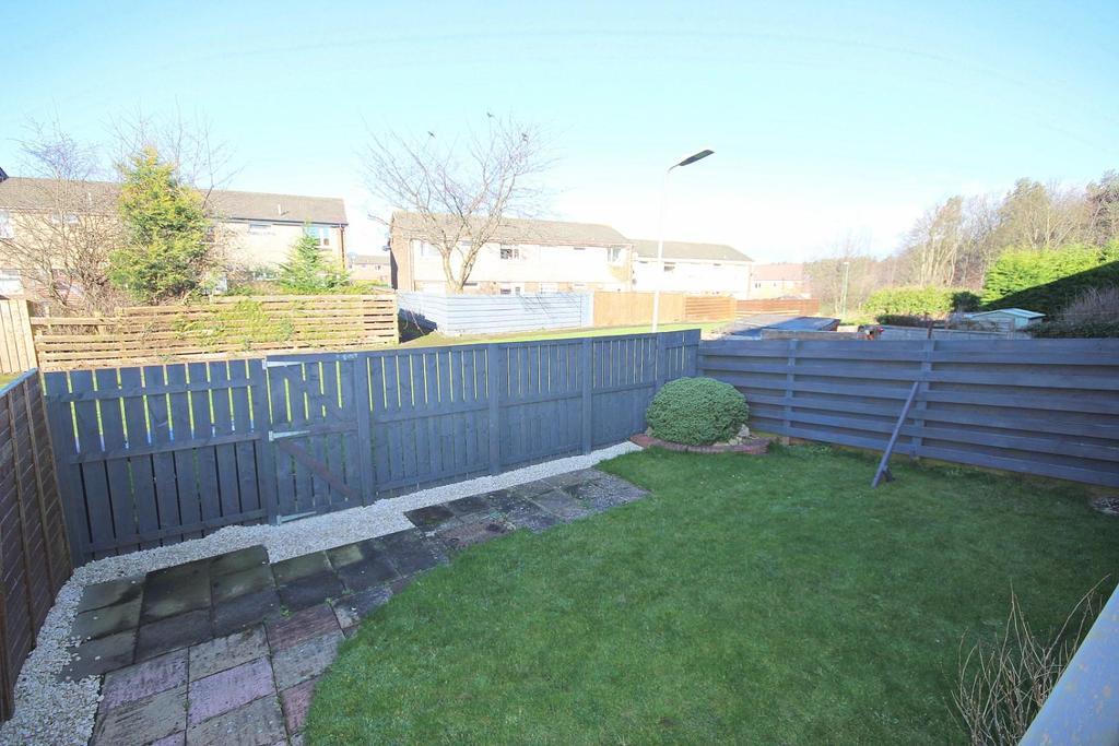Enclosed Rear Garden with Patio