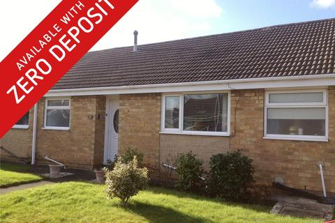 1 bedroom terraced bungalow to rent - Biggin Close, Tollesby
