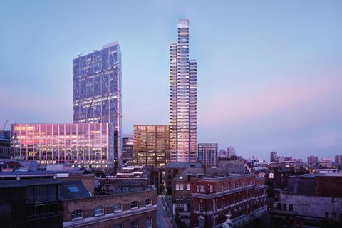 3 bedroom apartment for sale - Principal Tower, Shoreditch, EC2A