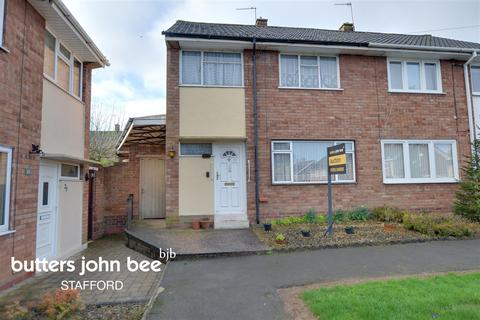 3 bedroom semi-detached house for sale - Coleridge Drive, Stafford