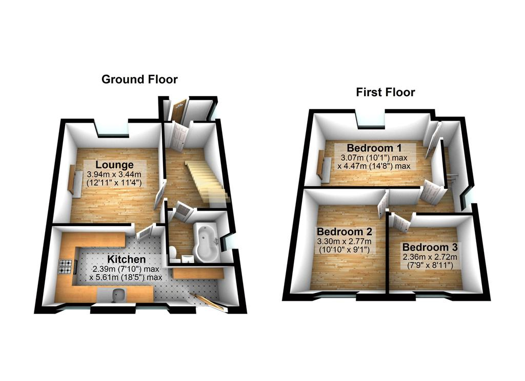 Floorplan 2 of 2: 3 D Floorplan