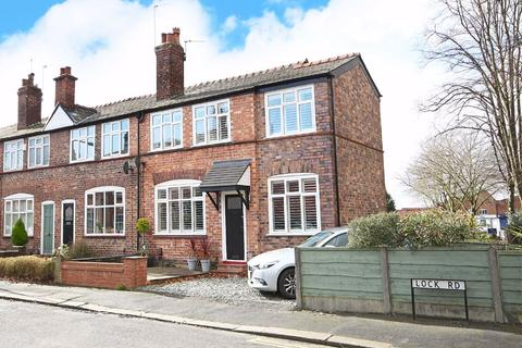 3 bedroom end of terrace house for sale - Lock Road, Altrincham, Cheshire