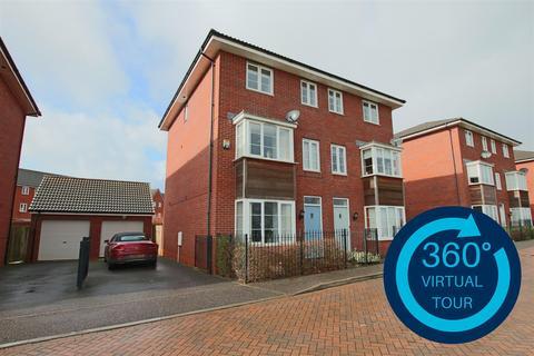 4 bedroom semi-detached house for sale - Jack Sadler Way, Exeter
