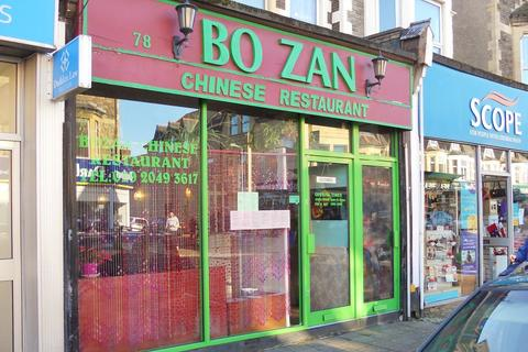 Restaurant for sale - Albany Road, Cardiff