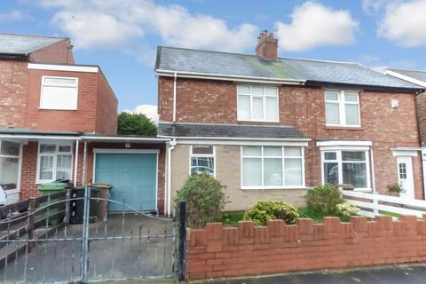 2 bedroom semi-detached house for sale - Greenhaugh Road, South Wellfield, Whitley Bay, Tyne and Wear, NE25 9HF