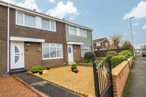 3 bedroom terraced house for sale - Highfield Drive, North Seaton, Ashington, Northumberland, NE63 9SP