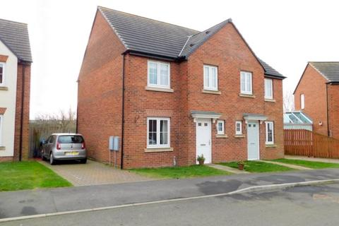3 bedroom semi-detached house for sale - PROSPECT PLACE, COXHOE, DURHAM CITY : VILLAGES EAST OF
