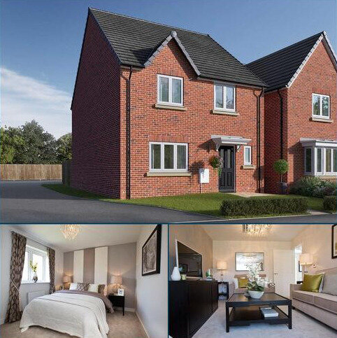 4 bedroom detached house for sale - Plot 136, The Mylne at Manor Park, Cobblers Lane, Pontefract, West Yorkshire WF8