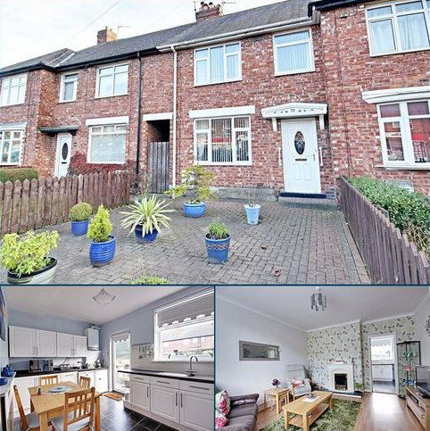 3 bedroom terraced house for sale - Prince Edward Road, South Shields, Tyne And Wear
