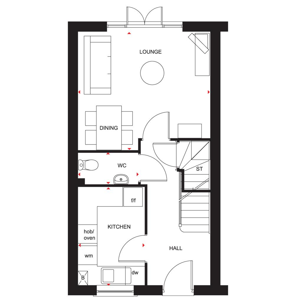 Floorplan 1 of 2: Waltham