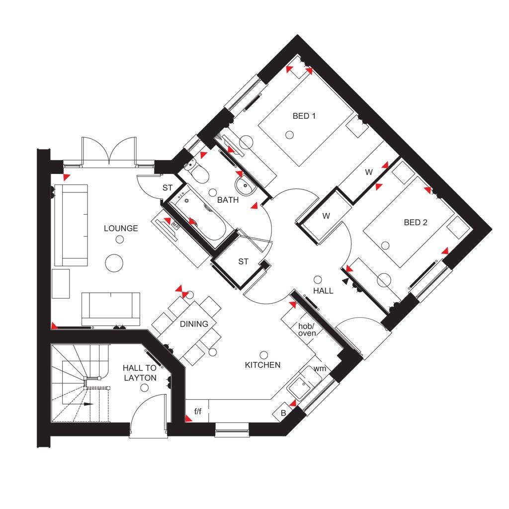 Floorplan: Hadleigh