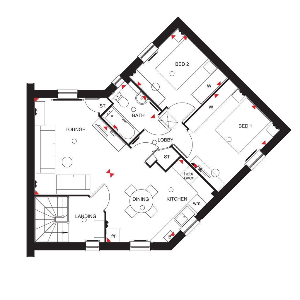 Floorplan: Layton