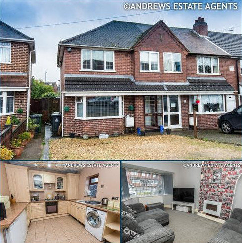 6 bedroom end of terrace house for sale - Chantrey Cresent, Great Barr, BIRMINGHAM