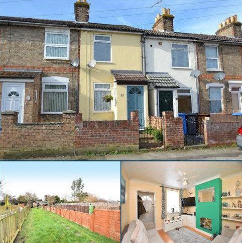 2 bedroom terraced house for sale - Waveney Road, Ipswich, IP1 5DF