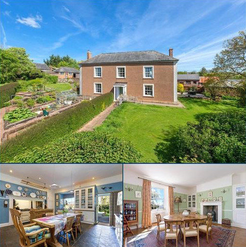 6 bedroom detached house for sale - Poughill, Crediton, Devon
