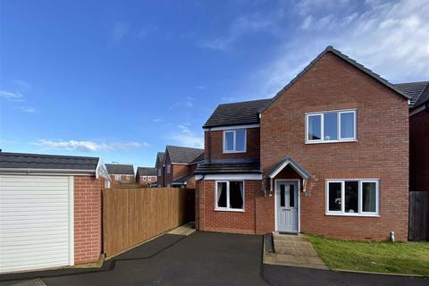 4 bedroom detached house for sale - Yew Tree Close, Spring Gardens, Shrewsbury