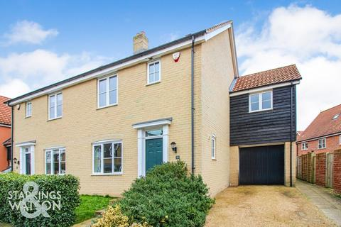 3 bedroom semi-detached house for sale - Kevill Davis Drive, Little Plumstead, Norwich