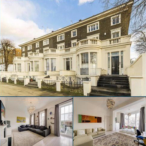 5 bedroom semi-detached house for sale - St. Johns Wood Road, NW8