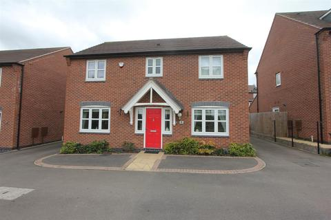 4 bedroom detached house for sale - Helsinki Drive, Hinckley