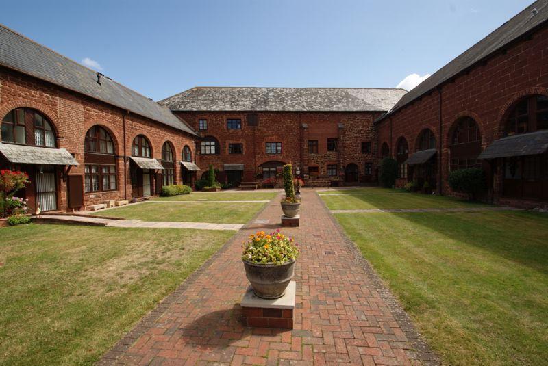 Courtyard in summer