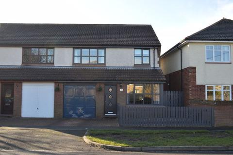 3 bedroom semi-detached house for sale - St. Peters Place, Scremerston, Berwick-Upon-Tweed