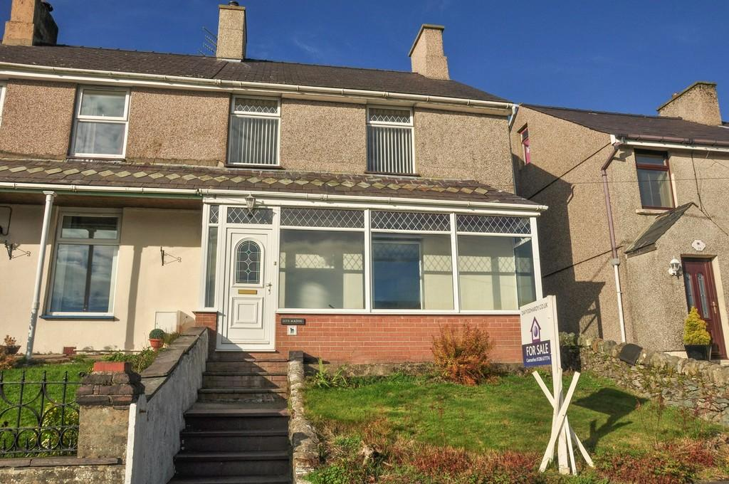 3 Bedrooms End Of Terrace House for sale in Coed Madog Road, Talysarn, North Wales