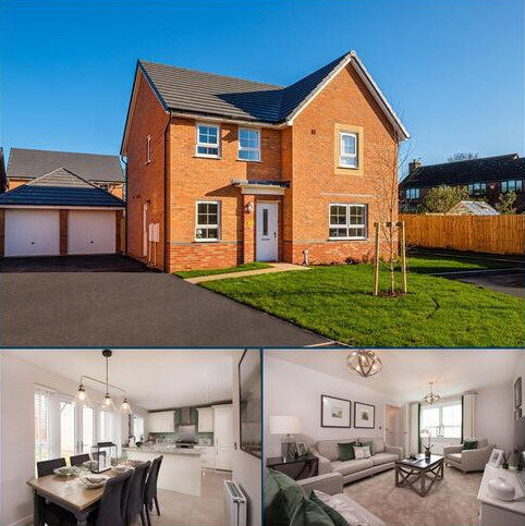 4 bedroom detached house for sale - Plot 62, Radleigh at Needham's Grange, Crewe Road, Shavington, CREWE CW2