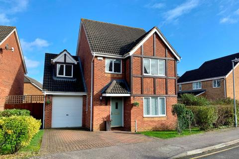4 bedroom detached house for sale - Rowley Way, Kingsthorpe, Northampton NN2 8XD