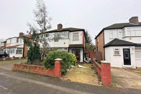 3 bedroom semi-detached house for sale - Fairholme Crescent, Hayes, Middlesex, UB4 8QW